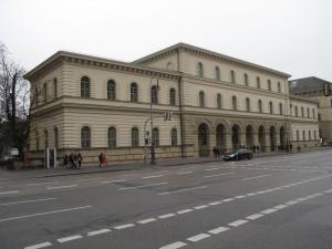 Heutiger Standort des Sudetendeutschen Archivs - das Bayerische Hauptstaatsarchiv