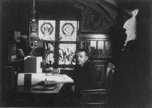 Chronist und Stadtarchivar Ernst von Destouches, um 1900