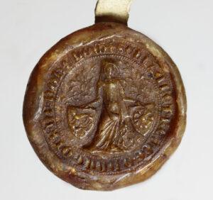 Bildnissiegel der Elisabeth von Hohenlohe