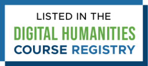 Digital Humanities Course Registry