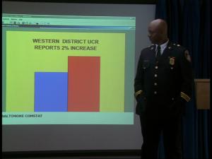 Colvin admet une hausse de la criminalité (s03e03, Dead Soldiers)