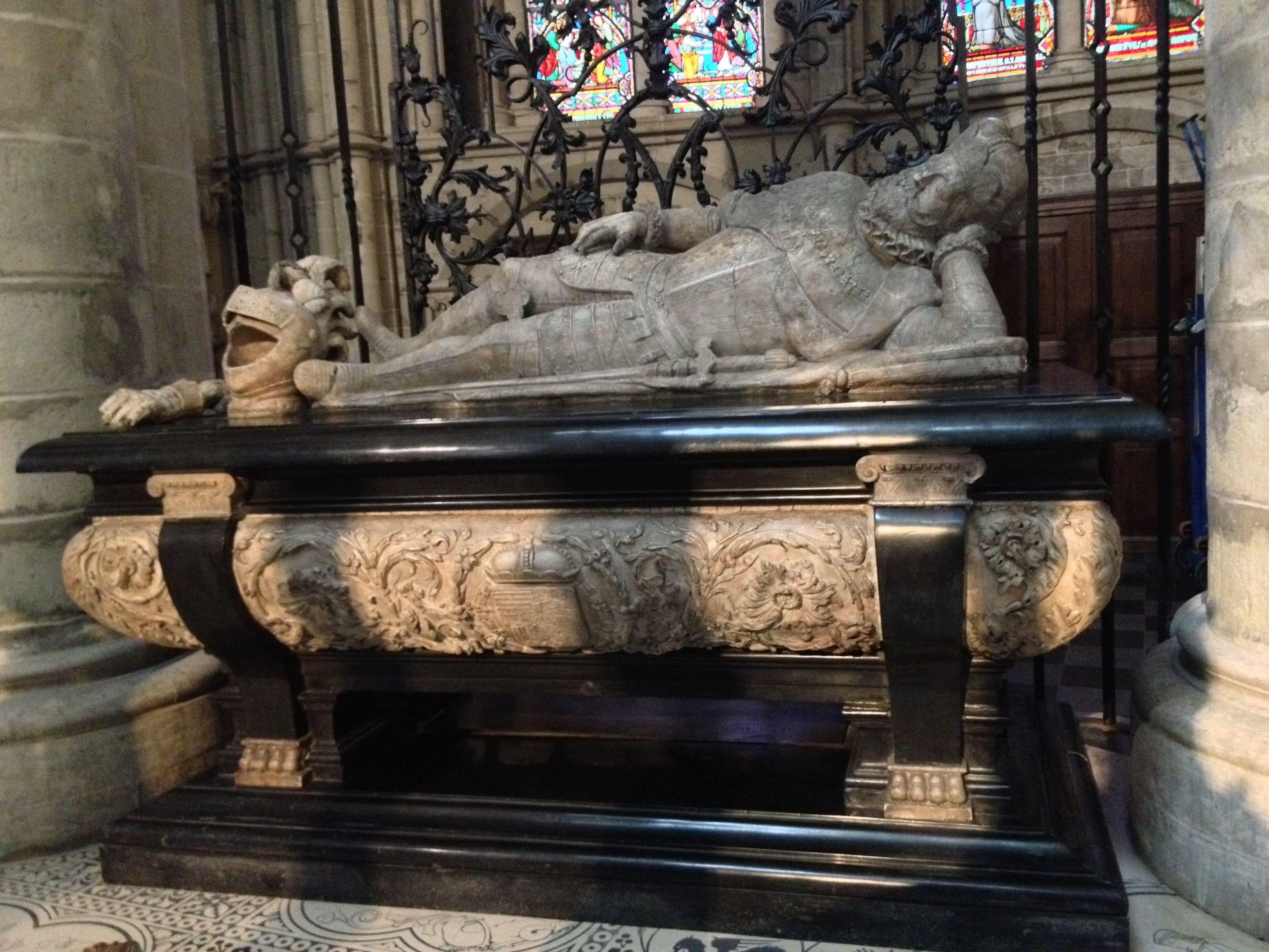 Abb. 5: Robrecht de Nole: Grabmonument für Erzherzog Ernst von Österreich, Brüssel, St. Michael und St. Gudula, 1600–1601, Foto: Ivo Raband.