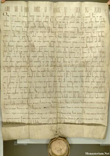 Stiftbrief Heinrichs II