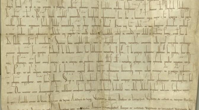 Stiftbrief Heinrichs II. Jasomirgott