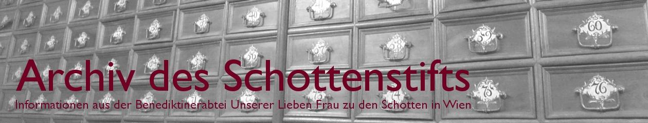 Archiv des Schottenstifts