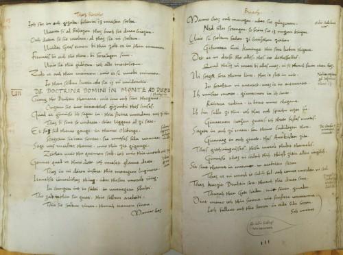 Cod. 733 (Hübl 605), fol. 110v/111r
