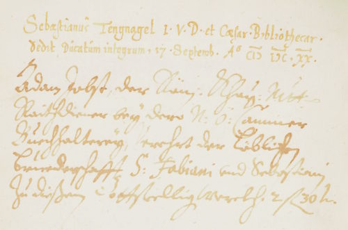 StiA 05.Pfarr Scho 6/01.05. Sammelbuch der Sebastiani-Bruderschaft (1619–1621).