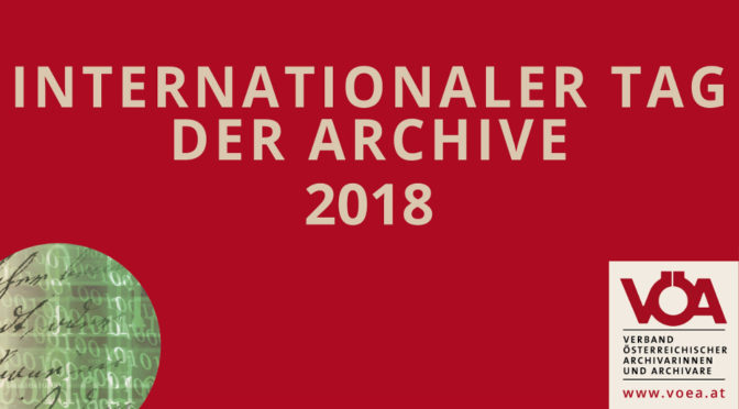 Einladung Juni 2018: Führung zum Internationalen Tag der Archive #IAD18