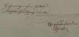 Scr. 102 Nr. 25. Brief Joseph von Hormayrs an Abt Andreas Wenzel über die Archivsituation in Regensburg (1828).