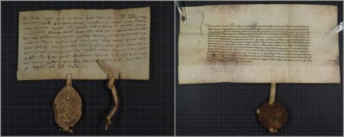 Urk 1283-03-18: Verbrüderung mit dem Schottenkloster St. Jakob in Regensburg. Urk 1422-05-04: Verbrüderung mit der Benediktinerabtei Melk.