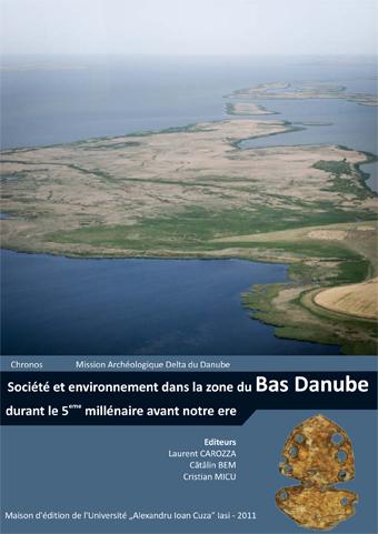 couverture de l'ouvrage : Société et environnement dans la zone du bas Danube durant le Ve millénaire avant notre ère