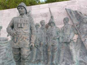 Gallipoli: Atatürk Bronzeplastik Canakkale Sehitler Abidesi. Foto: Gerhard Grüßhaber (2009)