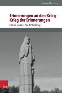 "Covers des Buchs ""Erinnerungen an den Krieg- Krieg der Erinnerungen"", © Vandenhoeck & Ruprecht, 2016"