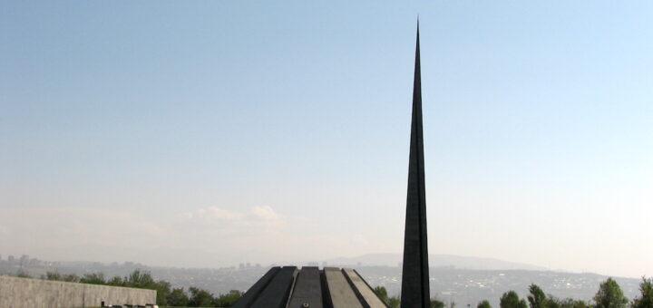 Genozid-Mahnmal in Yerevan