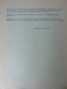 Accord de 1969 sur le repos hebdomadaire 2