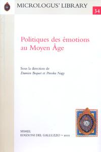Politiques des émotions au Moyen Âge
