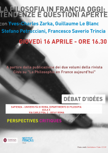 Table ronde Philo Sapienza PC 2015-4-16 LeBlanc