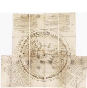 Plan de chasse pour traquer la Bête du Gévaudan Cote : F/10/476 © Archives nationales, pôle images