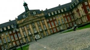 Schloss in Münster - Hauptgebäude der Universität