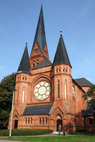 Die Pauluskirche in Dessau, der Standort des Landeskirchlichen Archivs.