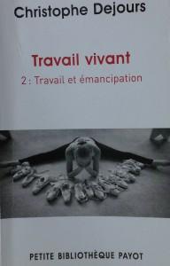 """Lecture pour mettre la réflexivité au travail – Le """"travail vivant"""" de Christophe Dejours"""