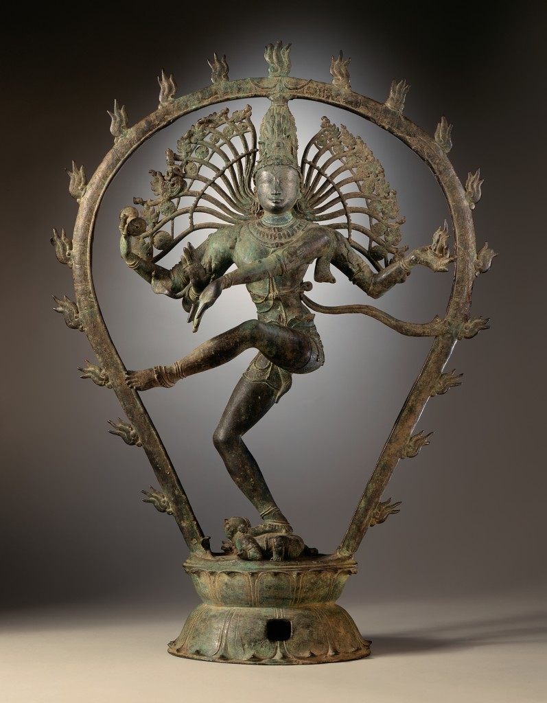 Shiva Nataraja. Art Chola, Tamil Nadu (Inde) photographed by the LACMA.