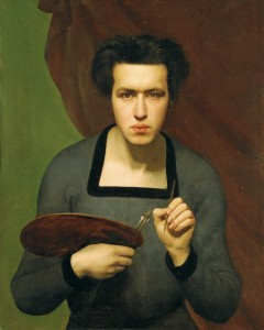 Louis Janmot, Selbstporträt, 1832, © Lyon MBA – Foto Alain Basset