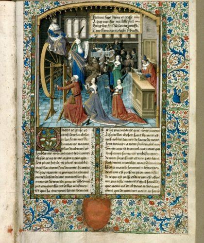 Pétrarque. Les remèdes de l'une et l'autre fortune. Aix-en-Provence, Bibliothèque Méjanes, ms. 1800