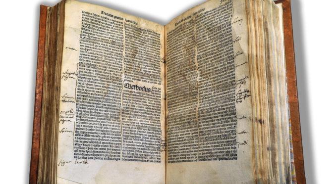 Le «doyen» des bibliothèques de santé a 500 ans !
