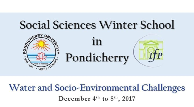 Water and Socio-Environmental Challenges 2017
