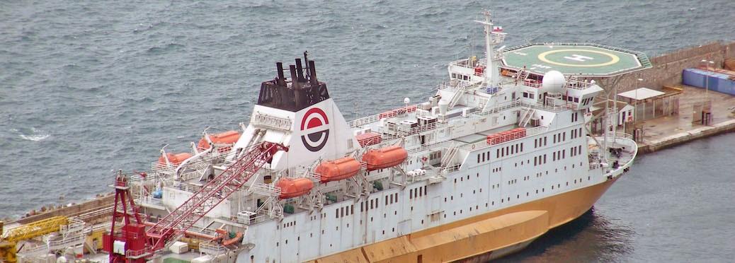 Forschungsschiff (Foto: Oliver Zauzig)