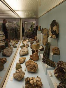 Mineralogische Sammlungen am Institut für Angewandte Geowissenschaften der TU Berlin, Foto: Oliver Zauzig