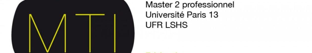 Masters Métiers du texte et de l'image MTI & LCA