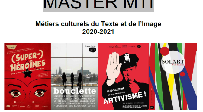 Brochure du master pro MTI 2020-2021