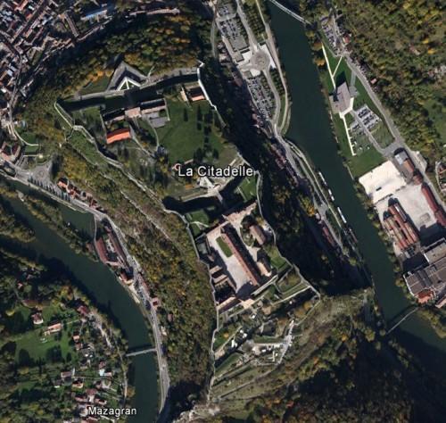 Besancon - erstellt mit Google Earth