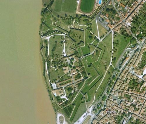 Blaye - erstellt mit Google Earth