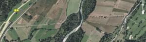 Schanzlinien bei Farchant. Quelle: Google Earth.