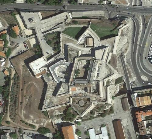 Marseille, Fort St. Nicolas - erstellt mit Google Earth