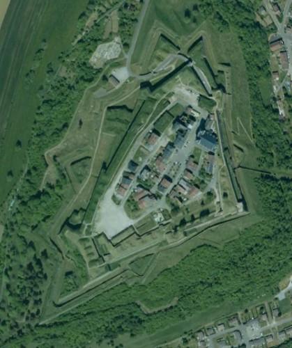 Montmedy - erstellt mit Google Earth