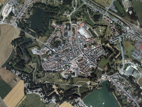 Le Quesnoy - erstellt mit Google Earth