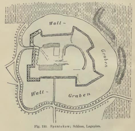 Plan Spantekows von 1899.