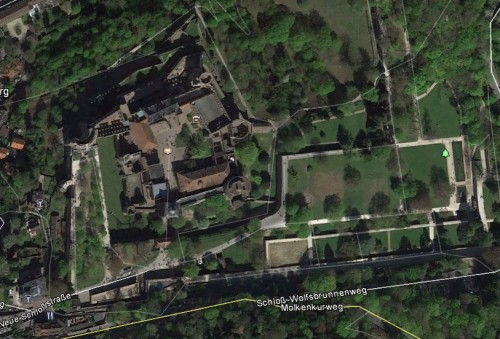 Heidelberg. Quelle: Google Earth.