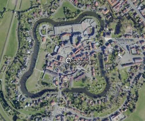 Ziegenhain. Quelle: Google Earth.