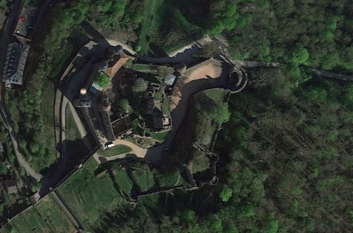Wertheim. Quelle: Google Earth.