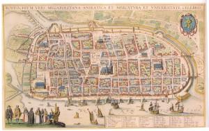Rostock 1624/25 (Wenzel Hollar)