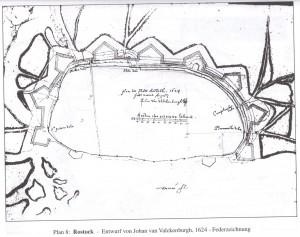 Reduzierter Plan Valckenburghs