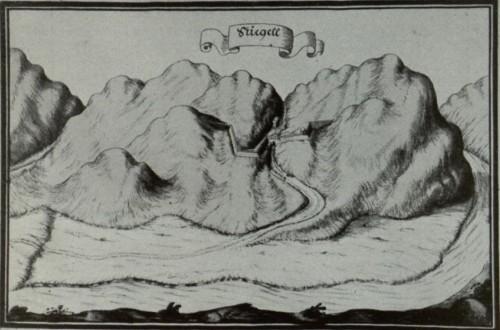 Schanze am Stiegel Pass (bei Weingartner)