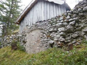 Ehemaliges Tor des Fort Claudia.