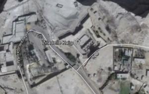 Zitadelle in Kairo. Quelle: Google Earth.