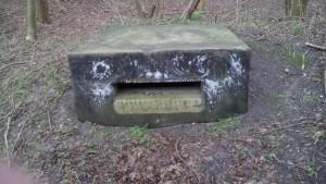 Ein-Mann-Bunker auf dem Dänholm.